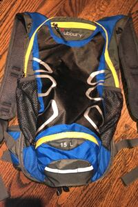 Hiking blue backpack- excellent condition.