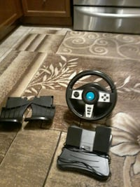 Wireless steering wheel 360
