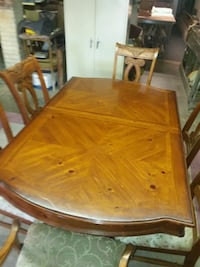 rectangular brown wooden dining table with chairs  El Paso, 79925