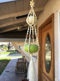 Vintage Hanging Plant Basket Escondido