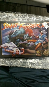30th Anniversary Street Fighter SNES Game.