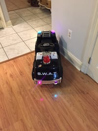 battery operated, kid's ride on fire truck/Swat car.
