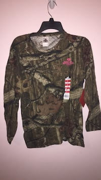 black and brown camouflage crew-neck sweater Knightdale, 27545