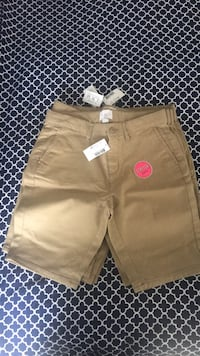 5 kahaki  girls size 12 uniform shorts Upper Marlboro, 20772