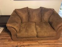 Brown Microfiber Loveseat with 2 end tables Jacksonville, 28546
