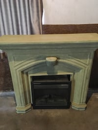 Fire place mantle with heater Kitchener, N2M