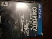Sony PS4 Call of Duty Ghosts game case