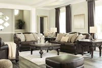 Embrook Chocolate Living Room Set   Jessup, 20794