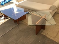 Nice Condition Coffee Table And Side Table