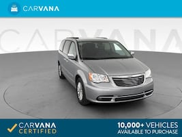 2013 Chrysler Town and Country van Touring-L Minivan 4D Silver