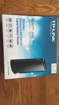 TP-link wireless N DOCSIS 3.0 cable modem router box New York, 10037