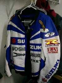 Motorcycle patted jacket 2xl