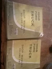 1968 FORD TRUCK SHOP MANUAL SET Hanover, 17331