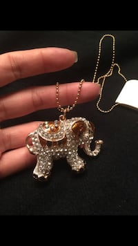Elephant necklace Mississauga, L5G 1G8