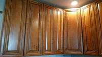 brown wooden 2-door cabinet Skokie, 60076