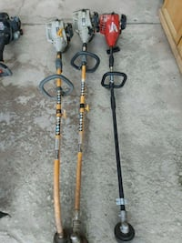 red and two gray gas string trimmers Bakersfield, 93307