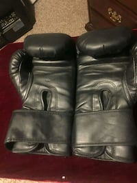 pair of black leather gloves Youngsville, 27596