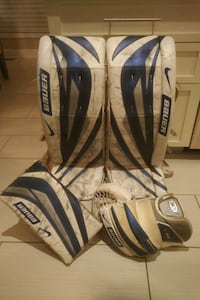 Nike Bauer One75 Supreme pads, blocker and glove  Laval, H7X 2N5