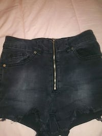 Revamped high waisted shorts