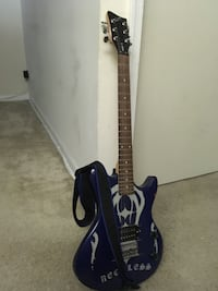 black and white stratocaster guitar New Carrollton, 20784