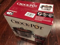 two black and white Crock-Pot slow cooker boxes Los Angeles, 90017