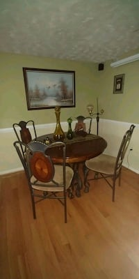 brown wooden table with chairs Falls Church, 22043