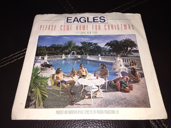 Eagles Come Home For Christmas.Eagles 1978 45 Please Come Home For Christmas Funky New Year