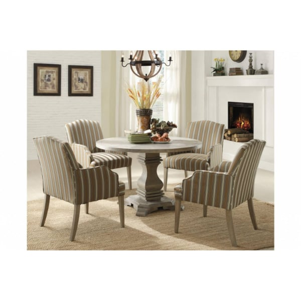 Euro Casual 5PC SET (TABLE + 4 ARM CHAIRS)  - Brand New - Free Home Delivery SF bay area