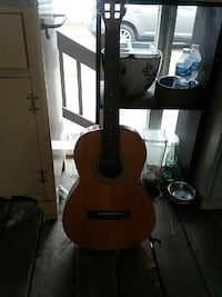brown and black acoustic guitar Portsmouth, 23707