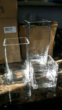 51 Glass vases (3 sizes)