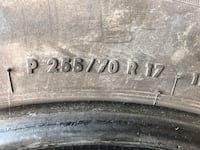 4  general tires 255 7017 two are pretty good ones good in one's fair Hagerstown, 21740