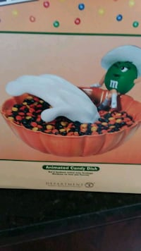 Halloween candy dish department 56 motion activate