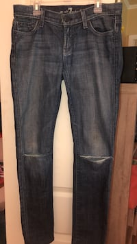 womens jeans size 25 Seven for all mankind Lafayette, 70503