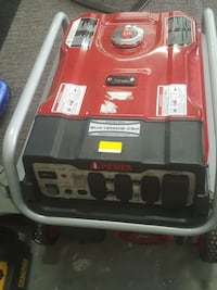 black and red portable generator Calgary, T2A 6P1