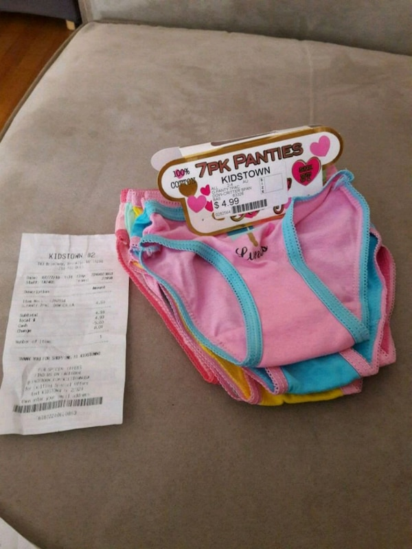 279d512441 7 Toddler girls panties usado en venta en Brooklyn - letgo