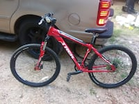 Red and black hardtail mountain bike Roebuck, 29376