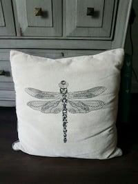 Dragonfly decorative pillow .. Surrey, V3S 1R8