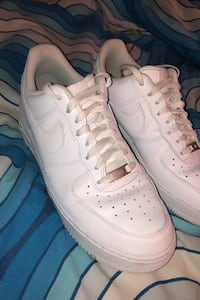 Air force 1's White, Size 10 Mens Burnaby, V5A 1M4