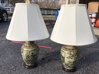 Asian Table Lamp Pair Gaithersburg, 20882