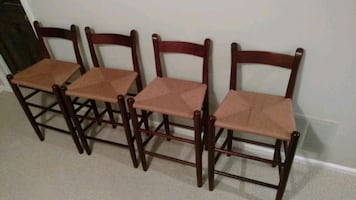 Vintage bar chairs.