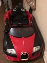 red and black ride on toy car Shreveport, 71109