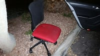 red and black rolling swivel chair Glendale, 85308