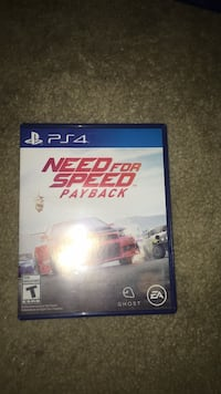 Need for Speed Rivals PS4 game case Shenandoah Junction, 25442