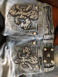 Miss me jeans size 26 straight fit Martinsburg, 25401