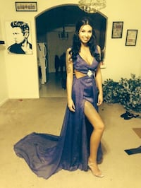 Purple custom made dress  McClellan, 95652