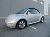 2003 Volkswagen New Beetle GLS Convertible 5Spd MANUAL FULLY LOADED ONLY 188,000KM! NEW WESTMINSTER, V3M 0G6