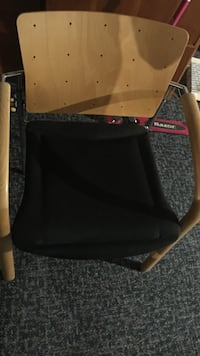 Black and brown travel cot Frederick, 21703