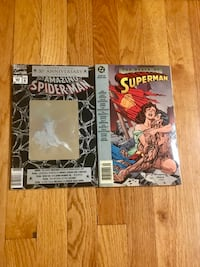 2 Must Have Superman and Spiderman Special Edition Comics Paterson, 07505