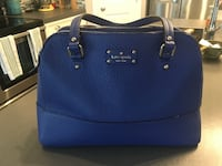 Kate spade colbalt blue leather bag Airdrie, T4A 0K3
