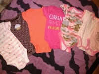 baby's assorted onesies 1483 mi